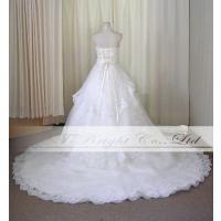 サイズオーダー/ウエディングドレス ウェディングドレス ロングトレーン 綺麗 結婚式 披露宴 ホワイト 5号〜25号/od52340