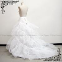 ロングトレーンのドレス用のパニエです♪  【サイズ(約)】(実寸サイズ) ウエスト:60〜90cm ...