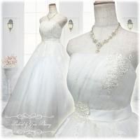 ウェディングドレス ウエディングドレス ロングドレス 結婚式 挙式 持ち込みドレス 演奏会 プリンセ...