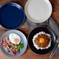 大皿 おしゃれ プレート L 23cm エッジライン Edge line 洋食器 お皿 皿 食器 大皿 ワンプレート ディナープレート メインプレート ディナー皿 カフェ食器