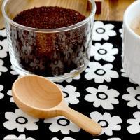 スプーン 木製 コーヒーメジャー ビーチ コーヒーメジャースプーン 天然木 キッチン雑貨 コーヒー用 木製スプーン かわいい シンプル おうちカフェ