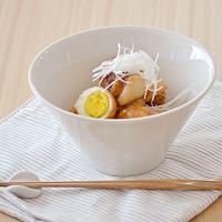 丼ぶり 台形マルチボウル 和食器 洋食器 ホワイト M  白い食器 どんぶり 大鉢 カフェ食器 サラダボウル ラーメン鉢 麺鉢 おしゃれ