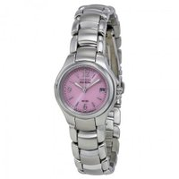 シチズン Eco-Drive Pink Silhouette Ladies Watch レディース ...