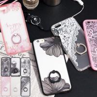 iPhone6 iPhone6s Plus iPhone7 ケース リング ストラップ付    対応...