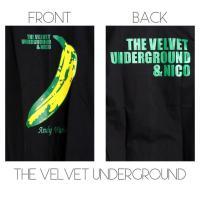 ロックtシャツ バンドtシャツ パンク 長袖 THE VELVET UNDERGROUND ヴェルヴェットアンダーグランド