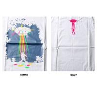 おもしろtシャツ パロディtシャツ メンズ デザインTシャツ UFOがミラーボール M Lサイズ 黒色 白色 パロディTシャツ メンズ レディース
