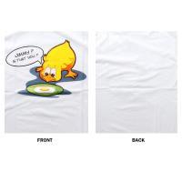 おもしろtシャツ パロディtシャツ メンズ デザインTシャツ パロディTシャツ 笑える 悲しい鳥との再会 黒色 白色 M Lサイズ