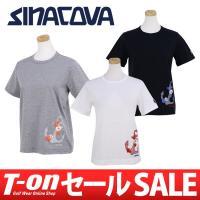 シナコバ SINACOVA 【レディース】 ソフトな風合いの半袖クルーネックTシャツです。 上質のコ...