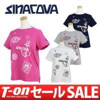 シナコバ【レディース】 柔らかで滑らかな肌触りのボートネックデザインのTシャツです。 首元をスッキリ...