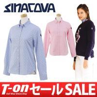 シナコバ SINACOVA【レディース】 上質コットン100%素材の、ギンガムチェック柄の長袖ボタン...