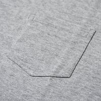 Tシャツ メンズ 無地 5.3オンス ユーロポケット付きTシャツ 細身 LIFEMAX(ライフマックス)