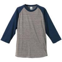この上ない肌触りを追求したトライブレンド素材で仕上げたラグラン7分袖Tシャツ。コットン、ポリエステル...