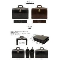 青木鞄 ダレスバッグ ブライドルレザー メンズ 本革 日本製 DEPTH No.2500