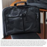 ガーメントバッグ/メンズ/二つ折り/ガーメントケース サイズ:幅55×高さ45×奥行き7cm  重量...