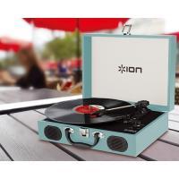 【ポータブルなトランク型レコードプレーヤー】ION Audio Vinyl Transport