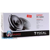 """Focal PC165 X2 2 Ohm 6.5"""" 80 ワット RMS 2-ウェイ Coaxial スピーカー(海外取寄せ品)"""