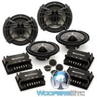 """2 セット AC.6 - Soundstream 6.5"""" 100W RMS 2-ウェイ Component スピーカー Syste(海外取寄せ品)"""