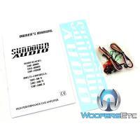 Sundown Audio SAE-100.4 4-Channel Full レンジ クラス AB Amplifier(海外取寄せ品)