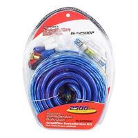 Nippon Pipeman 4 ゲージ amp キット ブルー/シルバー wire AFC fuse(海外取寄せ品)