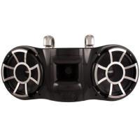 Wet Sounds レボリューション Series デュアル 10 インチ EFG HLCD タワー スピーカー - ブラック w(海外取寄せ品)