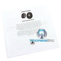 """JL Audio 12TW3-D4 12"""" 400W デュアル 4 Ohm ティン-ライン Component Car Subwoo(海外取寄せ品)"""
