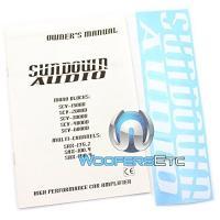 SCV-3000D - Sundown Audio Monoblock 3000W RMS Amplifier(海外取寄せ品)