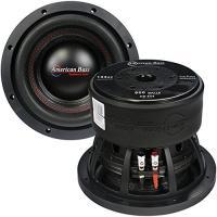 """アメリカン Bass 8"""" DVC 800 ワット キャスト フレーム 2.5"""" voice coil(海外取寄せ品)"""