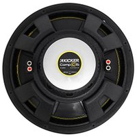 "Kicker CWCD154 CompC 15"" Subwoofer デュアル Voice Coil 4-Ohm(海外取寄せ品)"