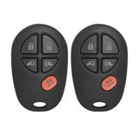 Keyless2Go New Keyless Entry Remote Car キー フォブ 5 ボタン リプレイスメント for (海外取寄せ品)