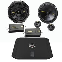 "Kicker 40CSS674 6.75"" Component セット with 200 ワット D..."