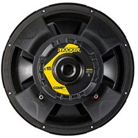 "Kicker Comp 43C154 15"" 500W Car Subwoofer + シングル Vented サブ ボックス En(海外取寄せ品)"