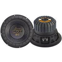 Lanzar MAX12 マックス 12-インチ 1000 ワット スモール Enclosure 4 Ohm Subwoofer(海外取寄せ品)