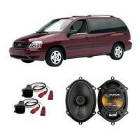 フィット Ford Freestar 2004-2007 Rear Side Panel ファクトリー リプレイスメント Harmo(海外取寄せ品)