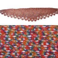 レディース ウインター ウール スカーフ Shawl-ZORJAR Crochet Knitted Cold Weather Sca(海外取寄せ品)