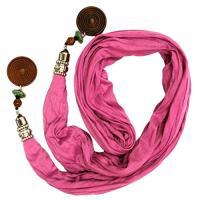 マルチカラー ファッション スカーフ コレクション 6-パック バンドル(海外取寄せ品)