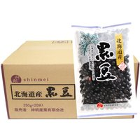 ★神明産業株式会社が製造した北海道産の黒豆です。北海道産の農家が丹念に栽培した良質の黒豆をパックしま...