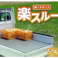 荷物をスベリやすくした樹脂ボード、すべるので荷積み荷降ろし が楽に行えます。北海道、沖縄、離島は送料...