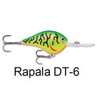 ラパラ(Rapala) DT-6 【送料220円】
