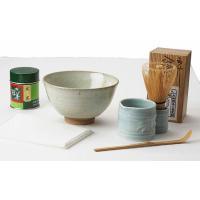 茶道具 抹茶六点セット 十二代 武村利左衛門作 唐津焼 茶碗付