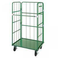 ●品種:かご車(かご台車) ●品番:ELS-3 ●出荷単位:1 ●耐荷重:500kg ●色:グリーン...