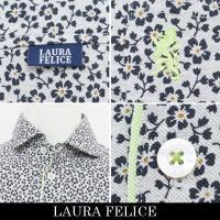 LauraFelice(ラウラ・フェリーチェ 半袖ポロシャツ ライトグレー系 130 4503 14