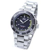 オリス アクイス デプスゲージ。 水を時計に浸入させることで水深を測定する初のダイバーズウォッチです...