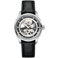ジャズマスター ビューマチック スケルトン の最大の特徴は、時計の表と裏の両面からムーブメントの美し...