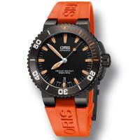 """""""賢明な価格の時計""""を作るというオリスの方針を損なうことなく実用的で読み取りやすい水深計を搭載するこ..."""