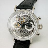 259e27e5b5 Arca Futura アルカフトゥーラ 腕時計 クロノグラフ メカニカルスケルトン 手巻き CW3002BK メンズ :w2406:TAIYODO  - 通販 - Yahoo!ショッピング