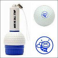 届いたその日から使える。ゴルフボール名入れスタンプ。