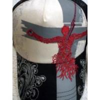 エヴァ×錦 エヴァンゲリオンメッシュキャップ リリス&ロンギヌスの槍刺繍 EVANGELION × NISHIKI