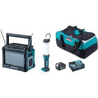 マキタ テレビ付コンボキット CK1010  TV100+ML104+BL1040B+DC10SA  アウトドア キャンプ
