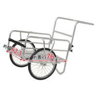 コンパクトサイズで扱いやすく、重い荷物もラクラク運べる便利なリヤカー。小回りも利くから農作業からアウ...