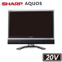 液晶テレビ 中古 20型 SHARP AQUOSアクオス LC-20EX1 20インチ デジタルハイビジョン 新品汎用リモコン アンテナ2m付属